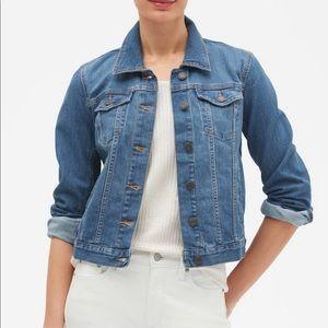 Banana Republic classic jean jacket with stretch